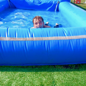 Our waterslide is cool.