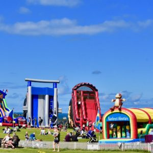 Body Bounce on the Barrowfields in Newquay in 2020.