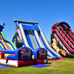 We do have some big slides at Body Bounce.