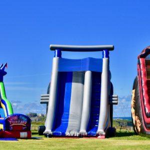 Big slides, big slides.